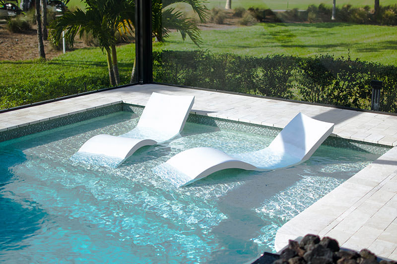 Attractive Chairs By Pool