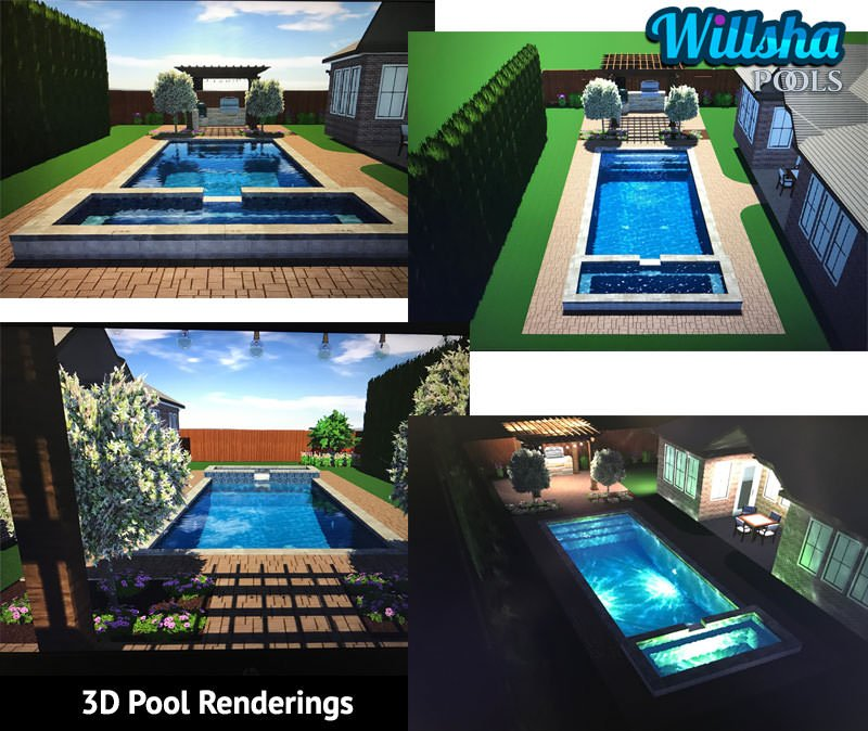 3D Pool Renderings