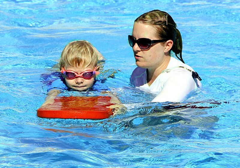Teach swim safety