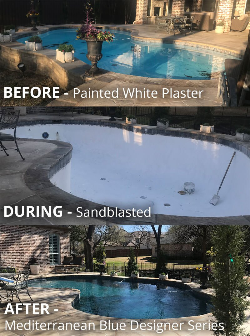 Pool Resurface: Before and After