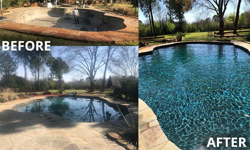 Pool Plaster Mix : Pool resurfacing and repair in dfw free estimates
