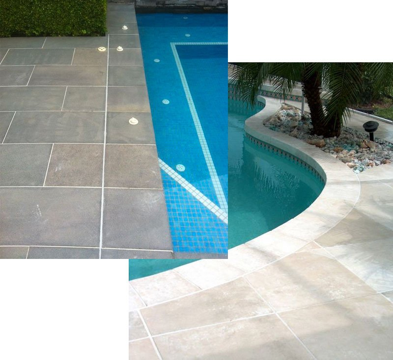 Tile Pool Deck