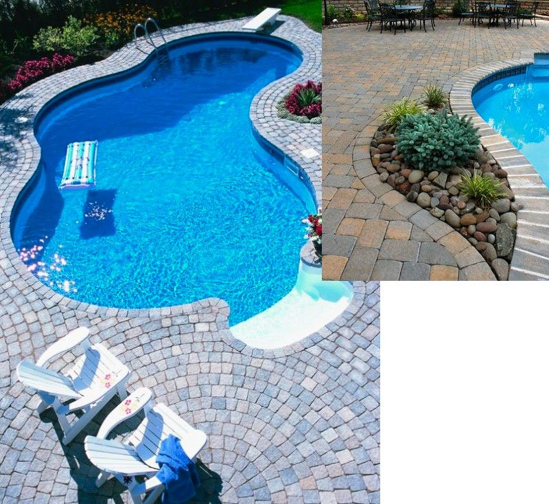 Pavers Pool Decking