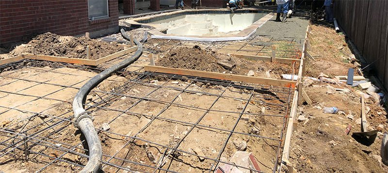 Pool Coping and Deck Remodel