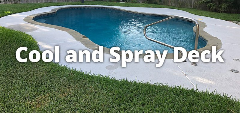 Transform Your Concrete With A Spray Or Cool Deck Coating Willsha Pools