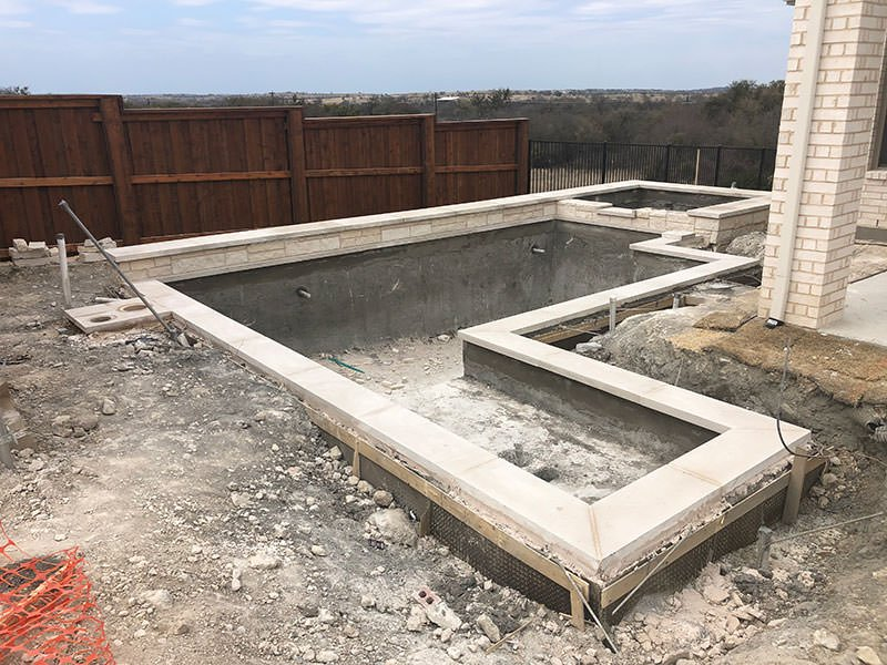 Modern Pool Coping & Stone