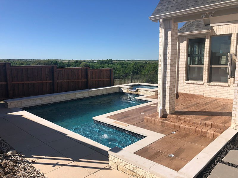 Walsh Ranch Pool Builder in Fort Worth