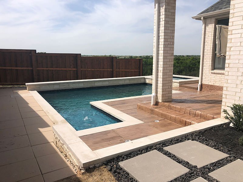 Walsh Ranch Pool Landscaping