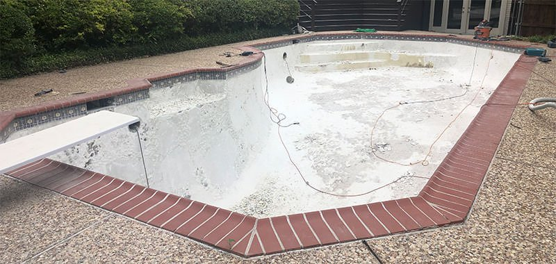 Pool Plaster Delamination Repair