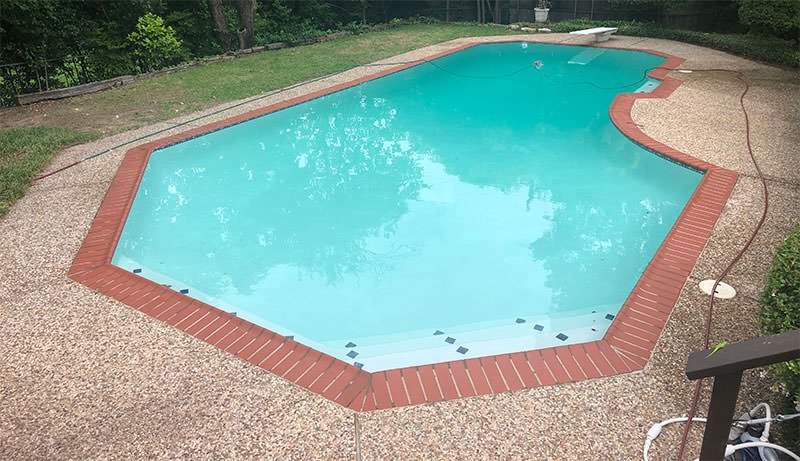 Pool Plaster Delamination Resurfacing
