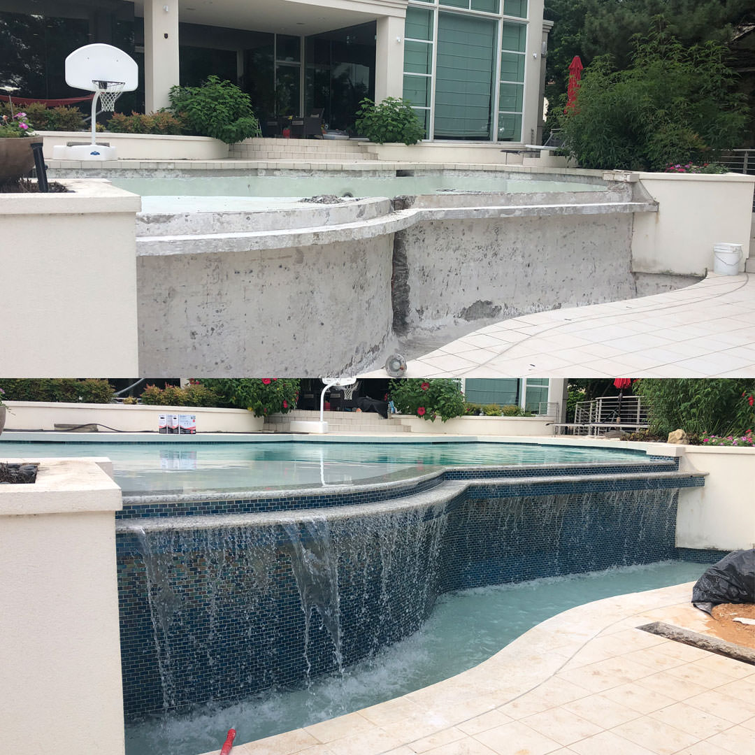 Pool Remodel in Arlington, Texas