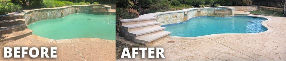 Southlake Pool Remodel
