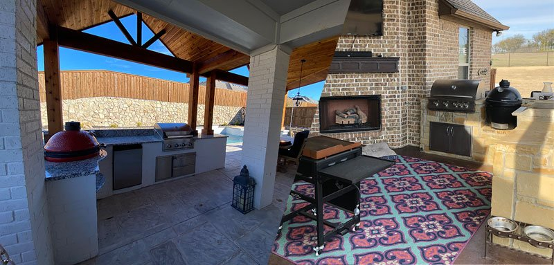 Outdoor Kitchens builders in Dallas - Fort Worth
